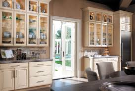 Painted Glazed Kitchen Cabinets Waypoint Living Spaces Style 610 In Painted Hazelnut Glaze