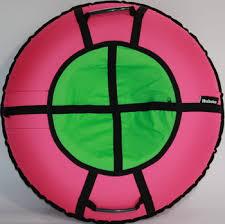 <b>Тюбинг Hubster Ринг Хайп</b> розовый-салатовый 90 см, во5857-1 ...
