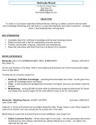 sample bartender resume skills resume cover letter example sample bartender resume skills