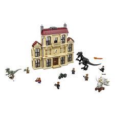 <b>Lego Jurassic World</b> 75930 <b>Нападение</b> индораптора в поместье ...