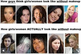 how guys think s look how las really look without makeup a reminder that its ok to have wrinkles pimples dimples scars or poor skin