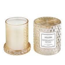 <b>BERGAMOT ROSE</b> Большая <b>свеча</b> со стеклянным колпаком ...