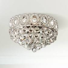"Moira 16"" Wide <b>Crystal Ceiling Light</b> - #8N120 