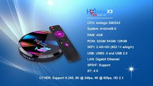 <b>H96 Max X3 Amlogic</b> S905X3 Gigabit Lan Android Tv Box ...