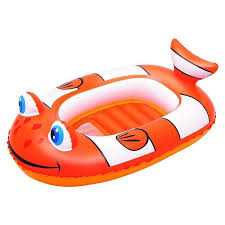 <b>Bestway Надувная лодочка</b> Рыба-клоун 102х69 см, арт. 34089 ...