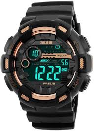 Skmei <b>Sports Outdoor Multifunction</b> S-Shock Digital Watch - For <b>Men</b> ...