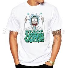 Новая мужская <b>футболка</b> с коротким рукавом <b>Rick</b> And Morty ...