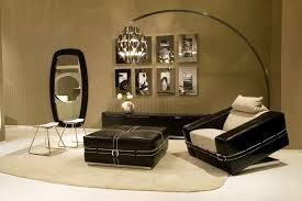 chic black leather sofa perfect