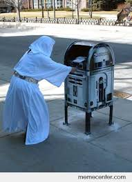 Help me, Obi-Wan Kenobi, you're my only hope.... by ben - Meme Center via Relatably.com