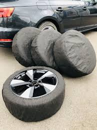 <b>Набор из</b> 4-х чехлов для автомобильных шин <b>Homsu</b> 4052268 в ...