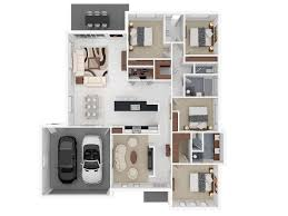 "Four "" "" Bedroom Apartment House Plans   Architecture  amp  Design    Bedroom Apartment House Plans Image"