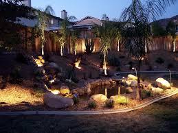 hardscapes backyard landscape lighting