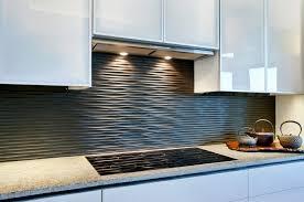 kitchen backsplash design ideas beautiful kitchen cabinet design with cool black graphic wavy backsplash ideas cabinet lighting backsplash home