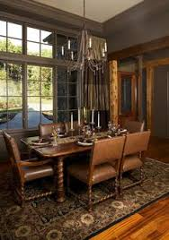 Great Room of The Hollowcrest   House Plan Number   For the    The Hollowcrest dining
