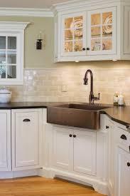 contemporary kitchen floor designs backsplash adorable design of the white tile backsplash with white wooden cabinet