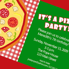 pizza party flyer info likable printable pizza party invitation template birthday party