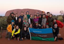 alexs college essay australia expeditionstories from the field australia a group photo in front of uluru