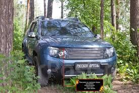 <b>Накладки на передние</b> фары (реснички) Renault Duster 2010 ...