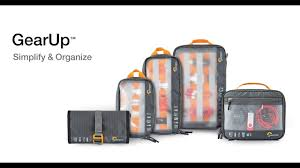 <b>Lowepro Gear Up</b> Series - Product Walk Though - YouTube