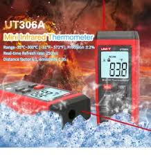 <b>UNI</b>-<b>T UT306A Digital</b> Infrared Thermometer Red La-ser ...
