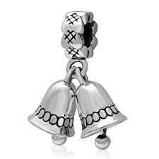 Christmas Charms <b>Authentic 925 Sterling Silver</b> Santa Claus Bead ...