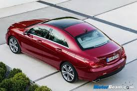 new car launches in early 2015Mercedes CLA Sedan Arrives In India Launch In Early 2015