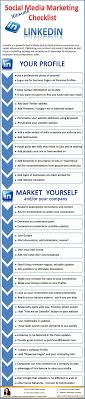 17 best images about linkedin marketing facebook your ultimate linkedin checklist for more social media tips and resources jobsearch socialmediainfographics