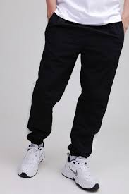 <b>Брюки URBAN CLASSICS Side</b> Striped Crinkle Track Pants (Black ...