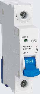 NB7 <b>Miniature</b> Circuit Breaker