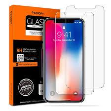 Spigen <b>Tempered Glass iPhone</b> 11 Pro/Xs/X Screen Protector [Case ...