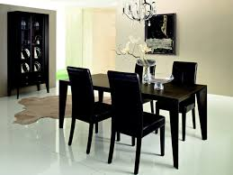 Contemporary Black Dining Room Sets Concept Dining Rooms Sets Modern Dining Room Black Modern Sets