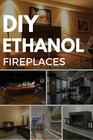 ideas pictures modern portable fireplace flavahomecom: with modern bio ethanol burners you can design and build your own eco friendly ventless fireplace all you need is an ethanol burner and some non flammable