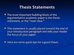 good thesis statement Willow Counseling Services The purpose of a thesis statement is to inform readers of Thesis