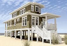 Narrow Lot Home Plans   Coastal Home Plans
