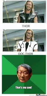 Thor's Proud Father by talkop123 - Meme Center via Relatably.com