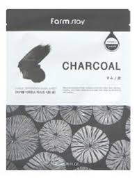<b>Farmstay Visible Difference</b> Sheet Mask Charcoal ingredients ...