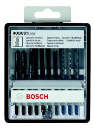 <b>Набор пильных полотен</b> для лобзика (10 шт.) <b>Bosch</b> 2607010574 ...