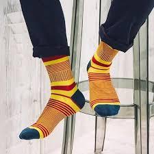 <b>5 Pairs</b>/Lot New <b>Style</b> Brand Men Socks <b>Fashion</b> Colored <b>Striped</b> ...