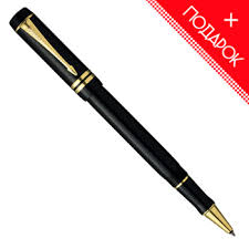 <b>Ручка</b>-<b>роллер Parker</b> Duofold T74 International Black GT(<b>S0690470</b> ...