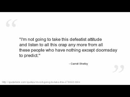 Carroll Shelby Quotes - YouTube