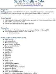 medical assistant resume sample medical assistant resume samples