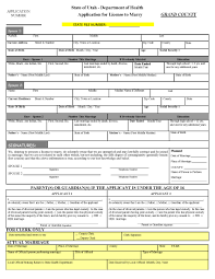 marriage licenses grand county ut official website application for marriage license