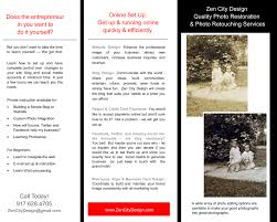 sample work zen city design sample flyers brochures business cards
