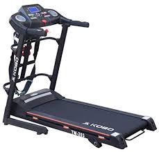Buy Kobo TM-<b>203</b> Steel 2 H.P Motorized Treadmill with <b>Multi</b> ...