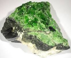 Diopside, <b>Chrome Diopside</b>, Star Diopside and Violane