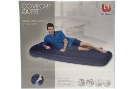 <b>Надувной матрас BestWay Easy</b> Inflate Flocked Air Bed/Single ...