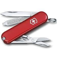 <b>Нож перочинный Victorinox Classic</b> - Красный (0.6223-012)