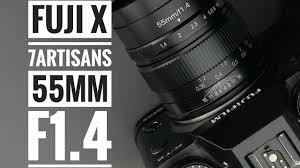 Fuji X <b>7artisans 55mm f/1.4</b> Review - YouTube