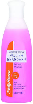 <b>Sally Hansen Strengthening</b> Nail Varnish Remover, 200ml: Amazon ...