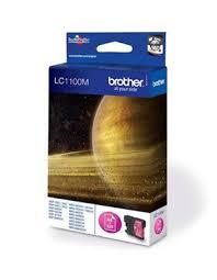 <b>Картридж Brother LC1100M</b>, оригинальный, magenta (пурпурный ...